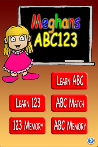 Screenshot Meghan's ABC123