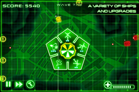 Screenshot A.I.R Defense Lite